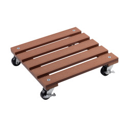 Plant trolley WPC brown