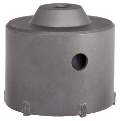 Carbide core drill bit