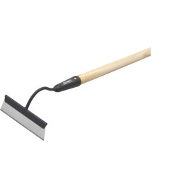 Beet and weed hoe black with handle